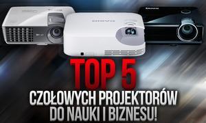 TOP 5 Czołowych Projektorów do Nauki i Biznesu