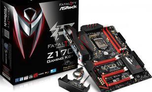 ASRock Gaming K6+, Intel Z170, 4x DDR4, SATA3, USB 3.1, GBLAN, ATX