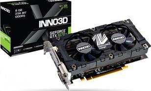 Inno3D Inno3D GeForce GTX 1070 Ti X2 v2, 8GB GDDR5 (256 Bit), HDMI, DVI, DP