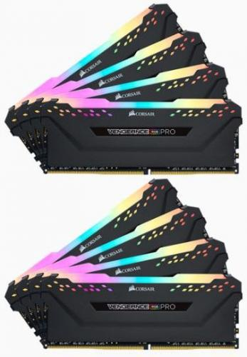 Corsair Vengeance RGB Pro DDR4, 8x8GB, 2666MHz, CL16
