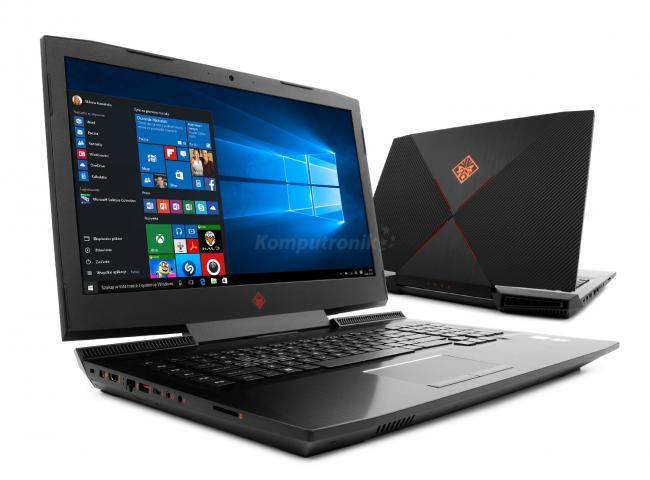 HP OMEN 17-an100nw (4TY02EA) - 120GB SSD