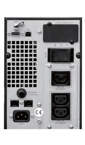 Lestar UPS Mep-1000 ONLINE LCD 3xIEC USB RS RJ 45
