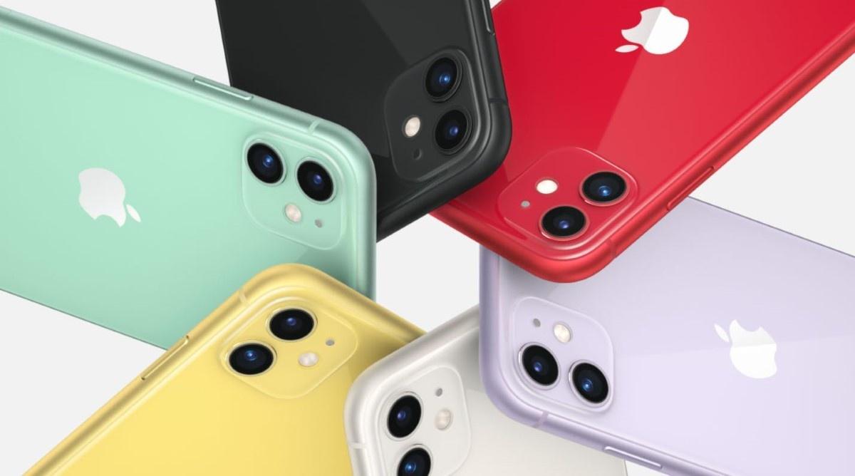 iPhone Apple 11 w różnych kolorach