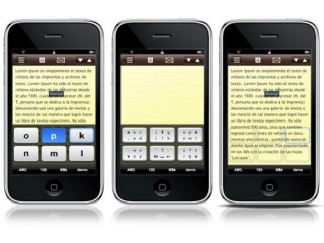 Nowości we wprowadzaniu tekstu za pomocą ekranów dotykowych