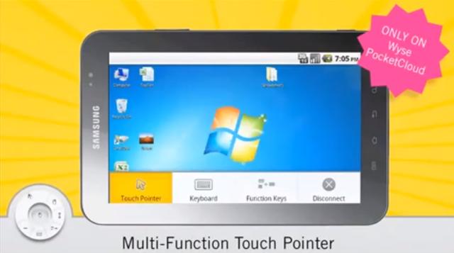 Połącz się zdalnie z komputerem dzięki Wyse PocketCloud