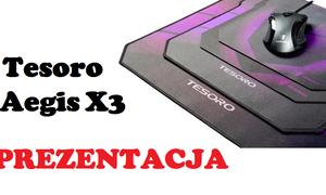 Tesoro Aegis X3 - podkładka pod mysz dla wymagających