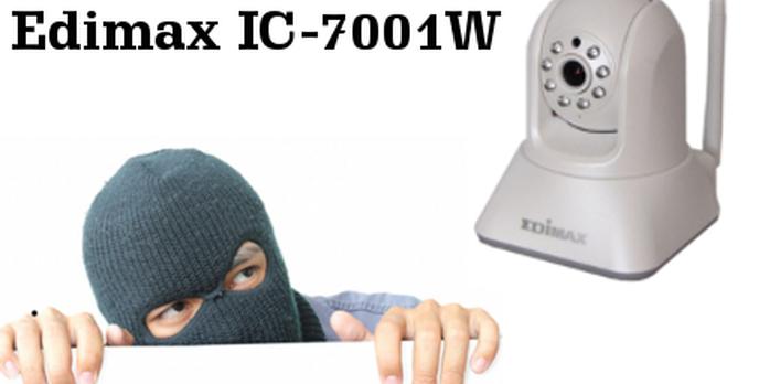 Poczuj się bezpieczniej z kamerą IP Edimax IC-7001W