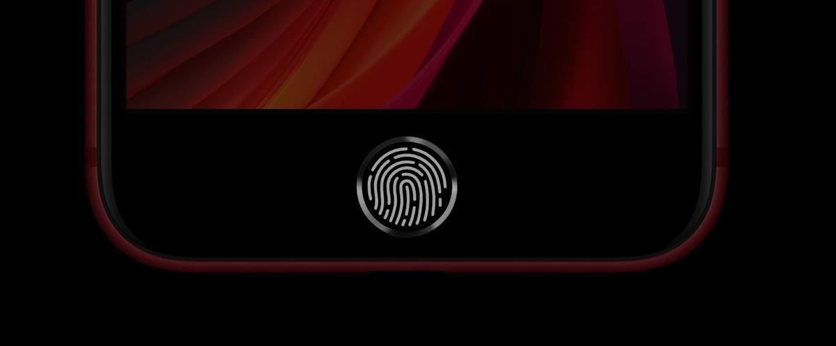 Czytnik linii papilarnych Touch ID