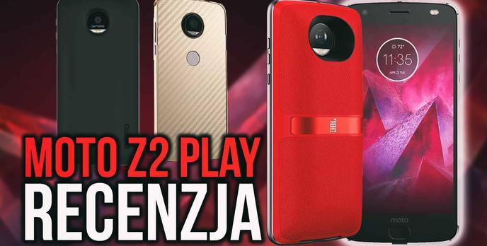 Motorola Moto Z2 Play - Modułowa Nowość od Lenovo