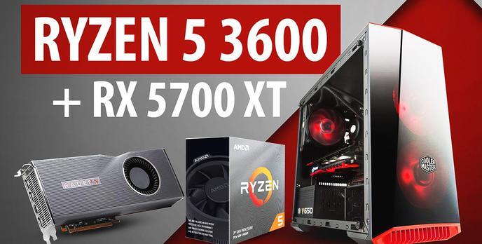 Ryzen 5 3600 + RX 5700 XT - Test komputera od Actina