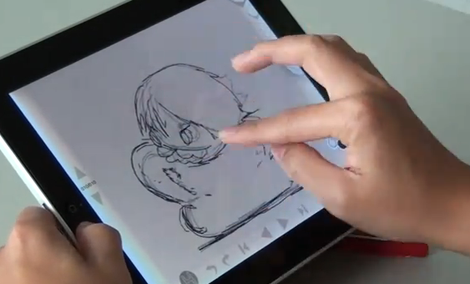Animation Desk for Apple iPad
