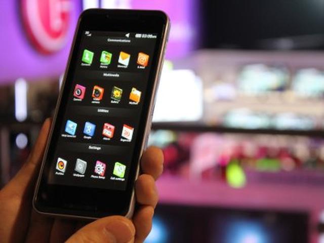 LG GW990 – pierwszy smartfon z procesorem Intela