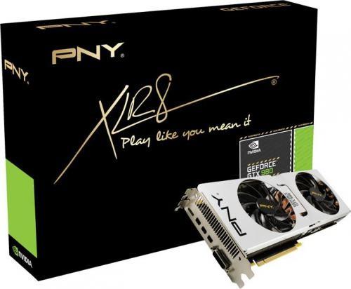 PNY Technologies GeForce GTX 980 Pure Performance Enthusiast 4GB GDDR5 (256 bit) DVI, 3x MiniDP, MiniHDMI (GF980GTXPE4GEPB)