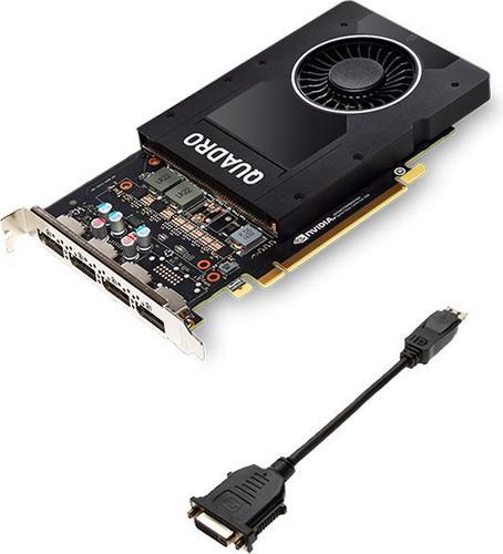 PNY Technologies NVIDIA Quadro P2000, 5GB GDDR5 (160 Bit),