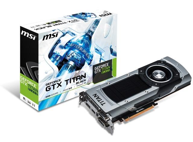 MSI GeForce GTX TITAN Black - poznajcie potwora wydajności!