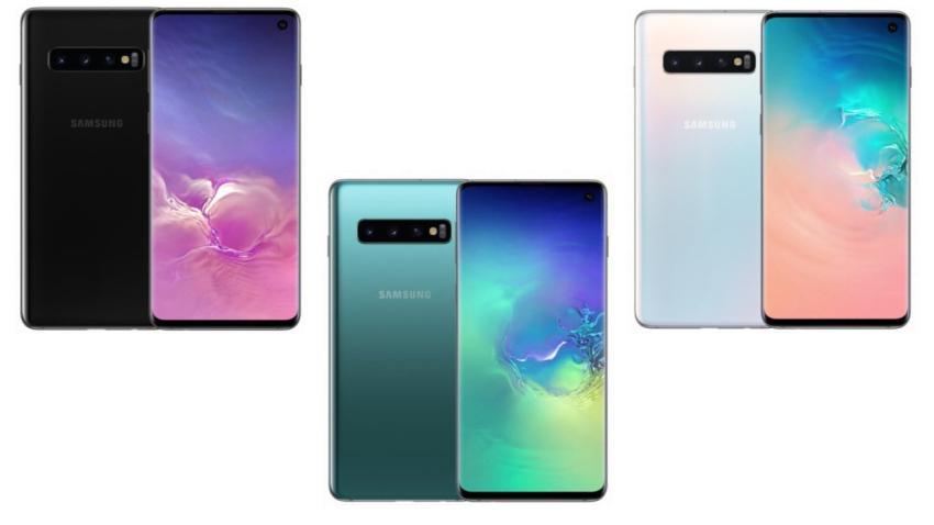 Samsung Galaxy S10 Wersje