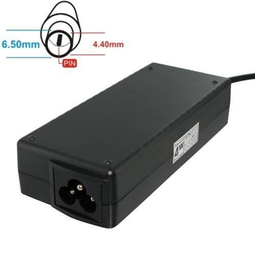 Whitenergy Zasilacz 19.5V | 3A 60W wtyk 6.5*4.4 mm + pin Sony 04126