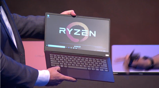 Lenovo Ryzen laptop