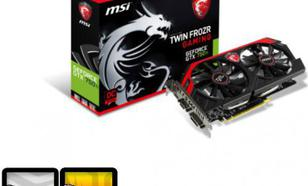 MSI GeForce GTX 750Ti GAMING 2GB GDDR5 (128 bit) HDMI, DVI, D-Sub (N750Ti TF 2GD5/OC)