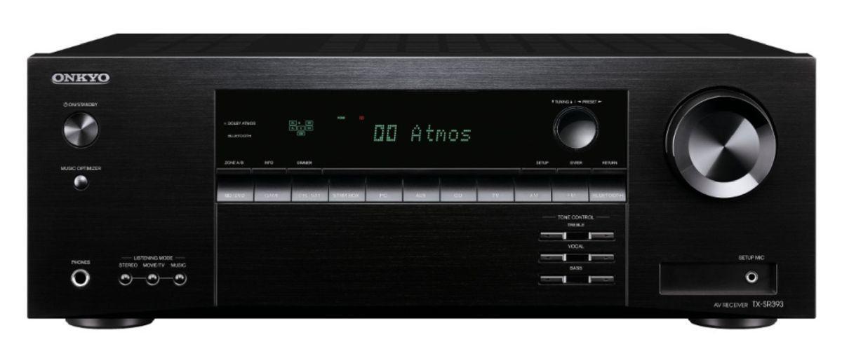 amplituner kina domowego Onkyo TX-SR393