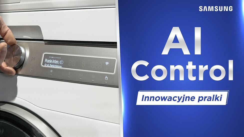 Samsung AI Control - Jedna z bardziej intuicyjnych pralek?