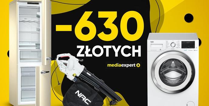 Nawet 630 złotych zaoszczędzisz z Media Expert!