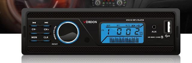 tanie radio samochodowe od firmy Vordon