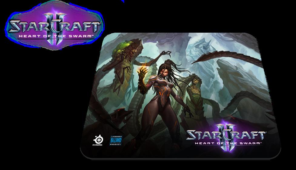 SteelSeries przedstawia nową podkładkę pod mysz – StarCraft II: Heart of the Swarm edycja Kerrigan