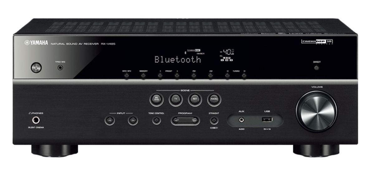 amplituner kina domowego Yamaha MusicCast RX-V485