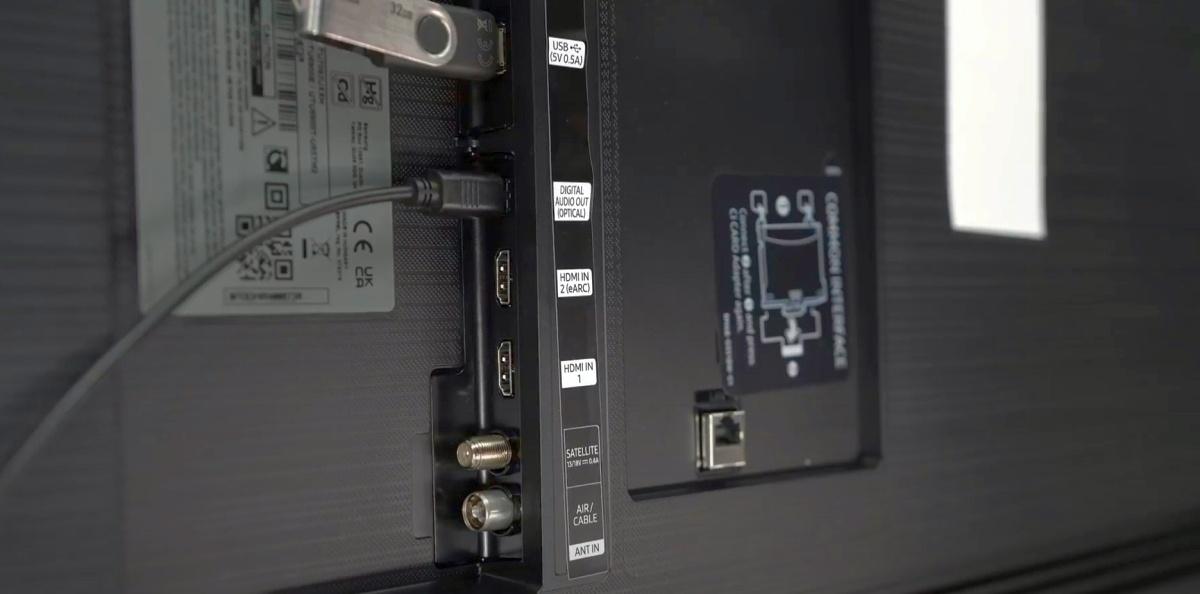 W telewizorze Samsunga nie brakuje złącza Common Interface +
