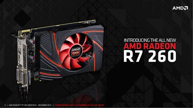 AMD Radeon R7 260 wszechstronna karta graficzna z serii R7
