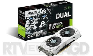 ASUS GeForce GTX 1070 Dual OC 8GB GDDR5 256 bit