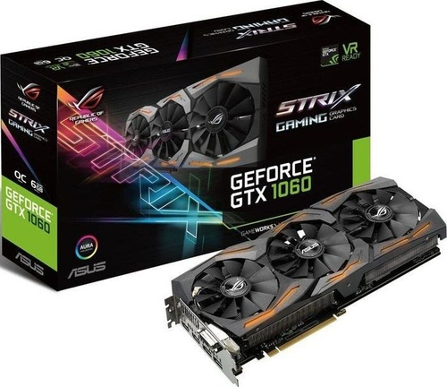 Asus GTX1060 Strix AC 6GB GDDR5 192-bit (90YV09Q3-M0NA00)
