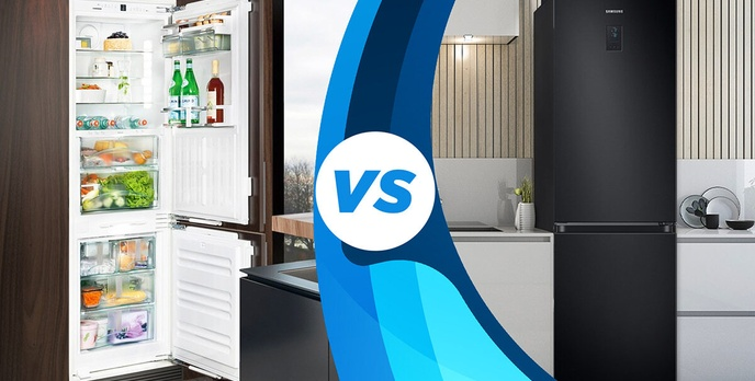 Lodówka do zabudowy czy wolnostojąca? Która z nich jest lepsza?