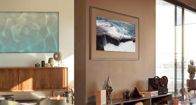 Ambient Mode pozwoli na to, aby Twój telewizor wtopił się w ścianę.