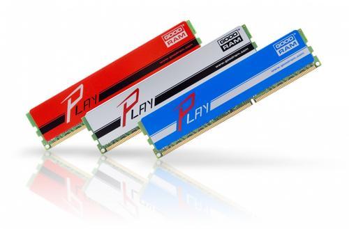 GoodRam DDR3 PLAY 8GB/1600 (2*4GB) Srebrny