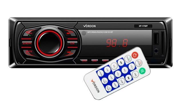 radio samochodowe Vordon