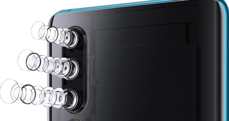 Huawei P30 ma potrójny aparat i 5krotny zoom