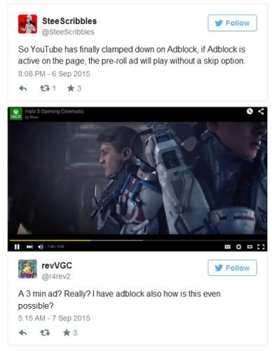 Google blokuje Adblocka