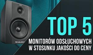 TOP 5 Monitorów Odsłuchowych w Stosunku Jakości do Ceny