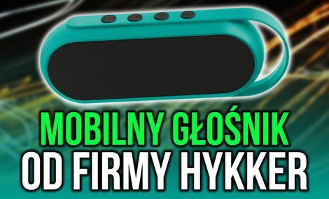Nowy Mobilny Głośnik od Firmy Hykker Pojawi się w Biedronce!