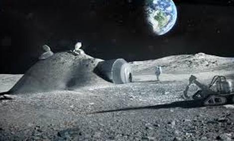 Jak Będzie Wyglądać Budowanie Baz Na Księżycu?