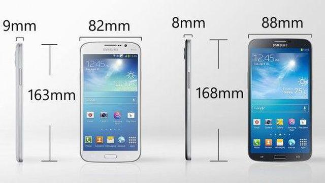 Samsung Galaxy Mega 6.3 and Galaxy Mega 5.8 fot3