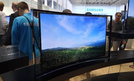 Na targach IFA 2013 Samsung przedstawił pierwszy na świecie profilowany telewizor Curved UHD
