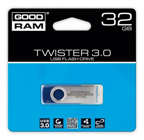 GoodRam TWISTER BLUE 32GB USB3.0