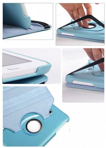 "WEL.COM Etui obrotowe 360° Galaxy Tab 3 7"" Lite T110/T111 niebieskie"