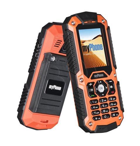 TELEFON myPhone HAMMER pomarańczowy