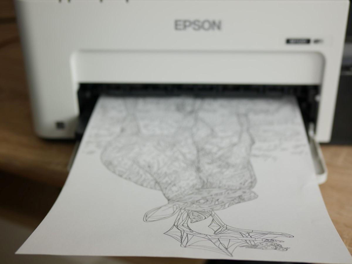 Drukarka Epson od frontu