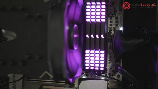 Kości RAM są nie tylko wydajne, ale również efektowne!