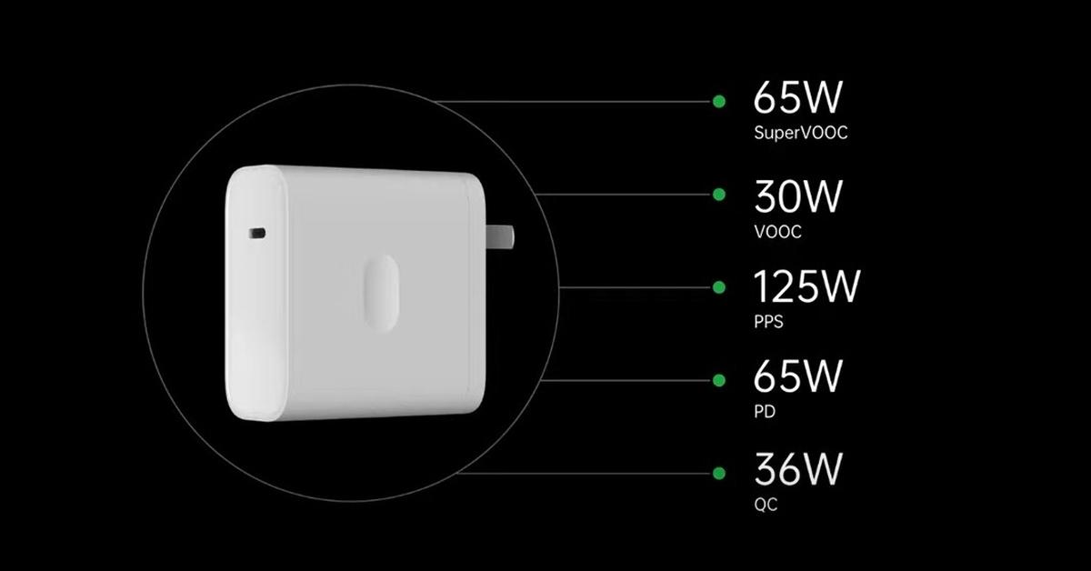 Ładowarka Oppo 125W Flash Charge pozwoli naładować inne urządzenia